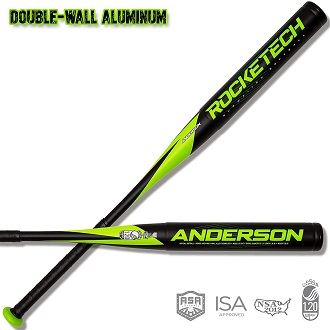 2020 Anderson Rocketech Double-Wall Slowpitch Softball Bat