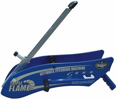 Louisville Slugger Triple Flame Hand-Held Pitching Machine