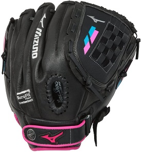 "Mizuno Prospect Finch GPL1205F2 12"" Youth Outfield/Pitcher Fastpitch Softball Glove - Recommended Age 7-8 Years Old"
