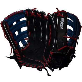 Worth XT Extreme Slowpitch Softball Gloves