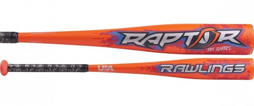 Rawlings 2019 Raptor Big Barrel USA Youth Baseball Bat